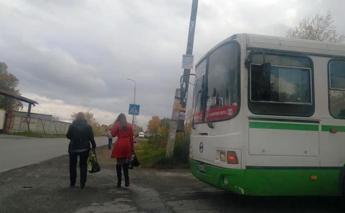 Восьмилетнего «зайца» в камуфляже высадил кондуктор автобуса №6