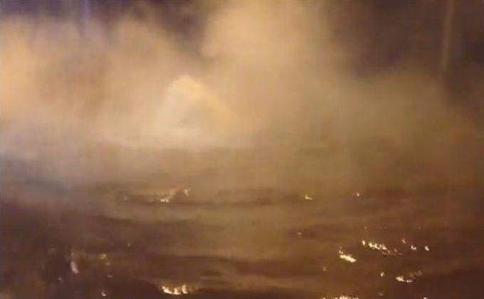 Улицу Бориса Богаткова вНовосибирске залило кипятком из-за прорыва труб