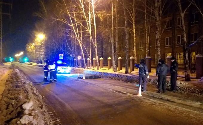 Сбил насмерть на хорошо освещенной улице и сбежал водитель