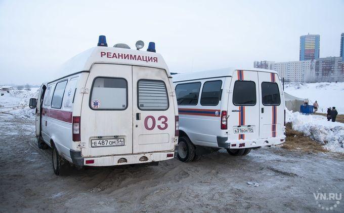 Женщину увезли синсультом откупели вНовосибирске