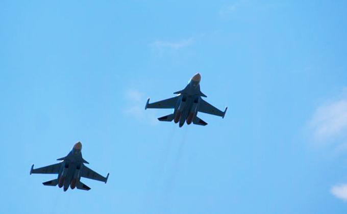Пролет военных самолетов над Новосибирском в День Победы-2019 обсуждается
