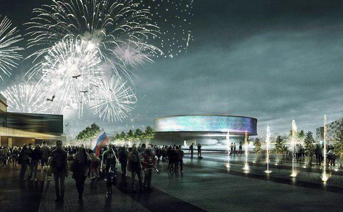 Строительство хоккейной арены вНовосибирске начнется в 2019г.