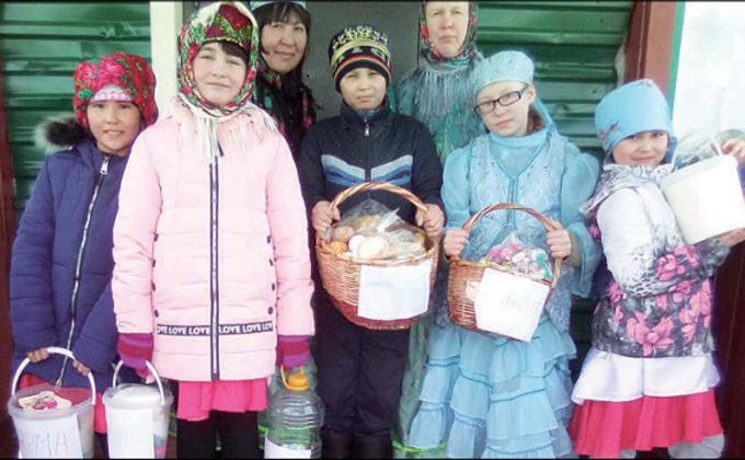 Праздник «Вороньей каши» отметили жители Усманки