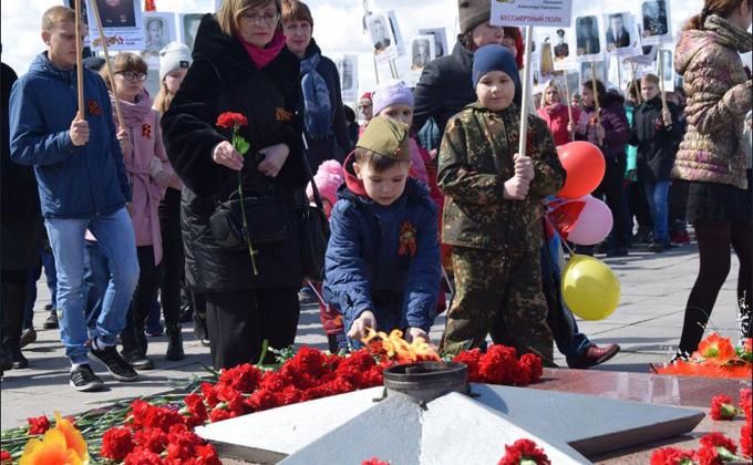 Программа празднования Дня Победы 9 Мая 2019 в Барабинске