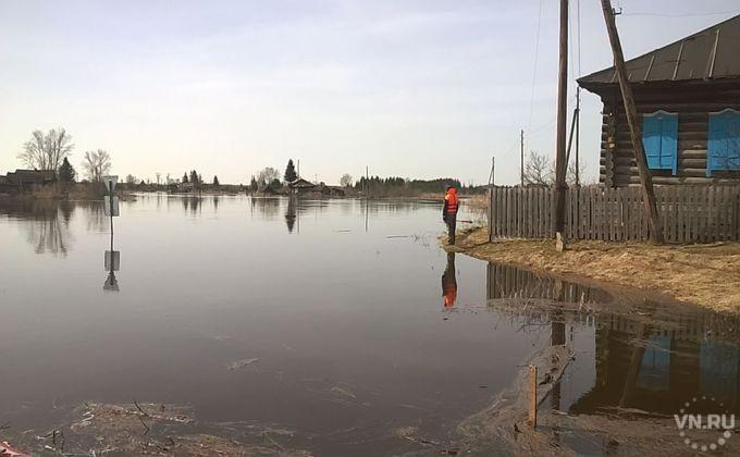 МЧС предупреждает оначале подтопления одного изпоселков вНовосибирской области