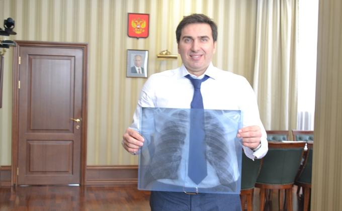 Сфотографировать легкие предлагают чиновники Новосибирской области