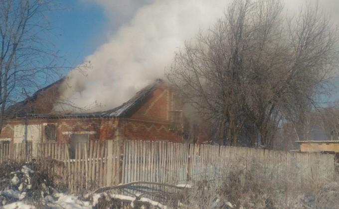 Три человека погибли впожаре вНовосибирской области