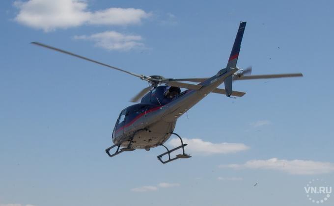 Заразбитый вертолет при жесткой посадке осудили пилота вНовосибирске