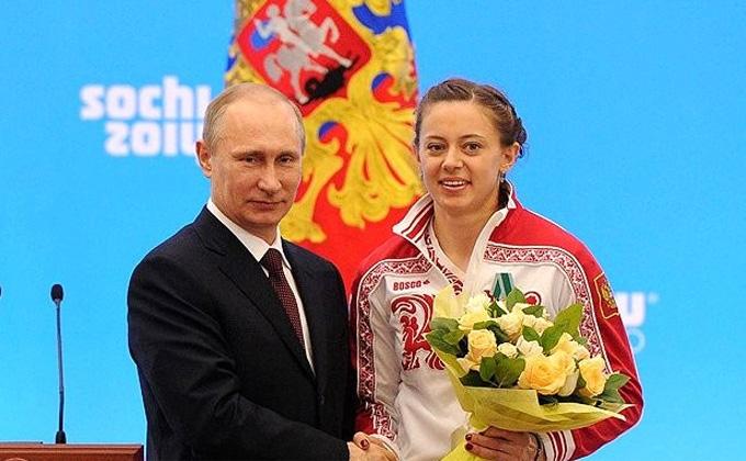 Долгожданного сына родила биатлонистка из Новосибирска Ольга Вилухина