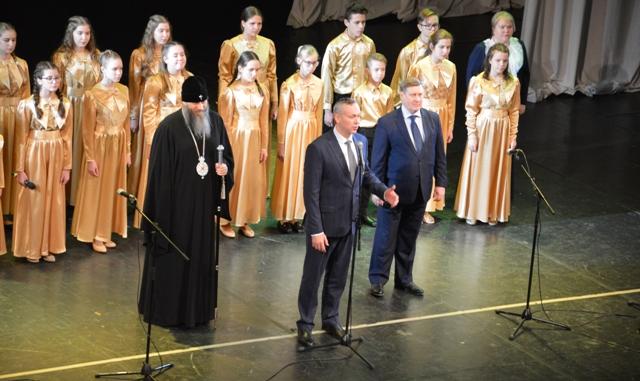 С праздником Рождества поздравил новосибирцев губернатор