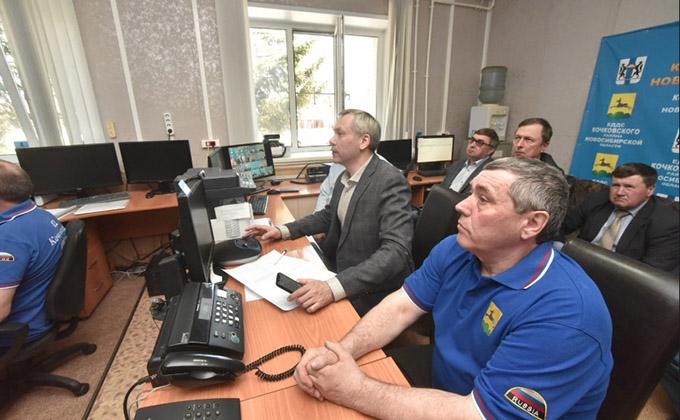 Губернатор поручил усилить авиа- и наземное патрулирование во избежание пожаров