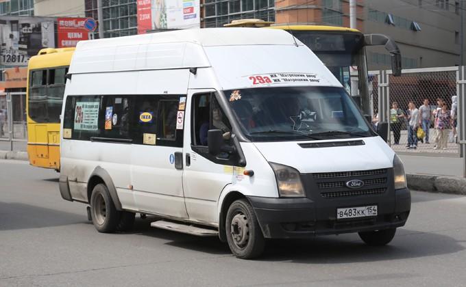 ВНовосибирске пассажир маршрутки нокаутировал водителя