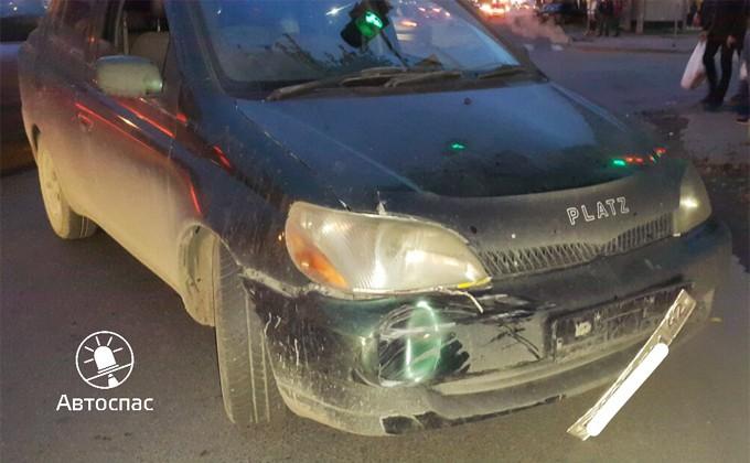 ВНовосибирске шофёр иномарки заснул зарулем испровоцировал ДТП