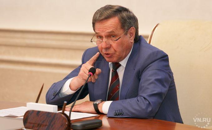 Владимир Городецкий отреагировал на выражение губернатора Хакасии околхозном Новосибирске