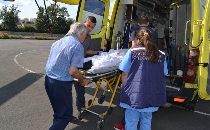 Вертолет перевезет больных из Искитима