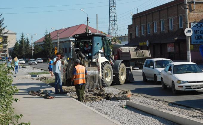 Нарушения при строительстве дороги в Искитиме устранены