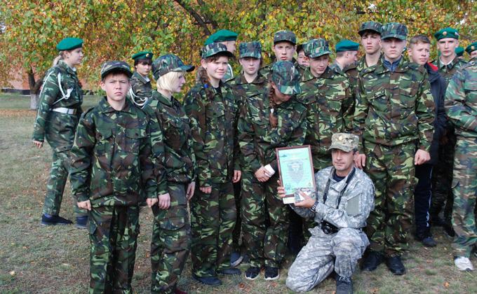 Военно-полевые сборы в Карасуке выиграли рукопашники