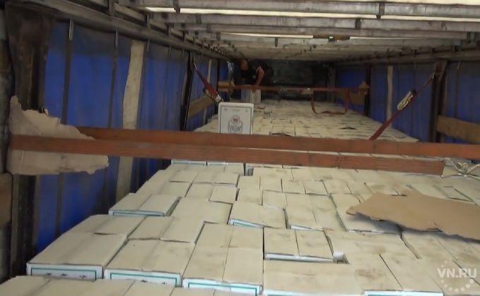 40 тыс. бутылок самопального алкоголя переправлял через полстраны безработный новосибирец