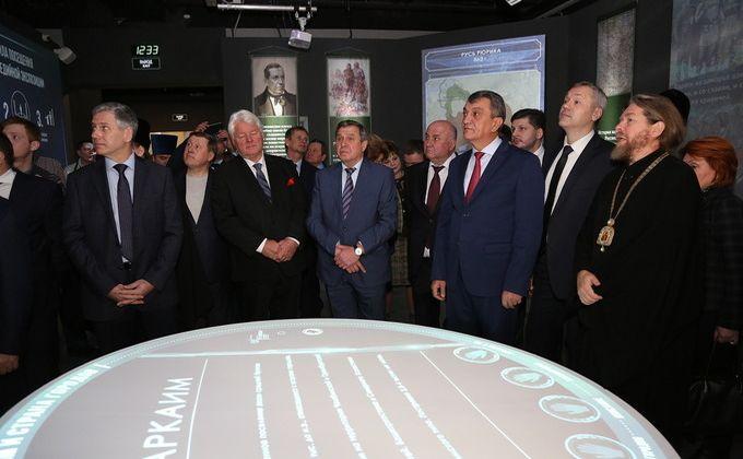 Врио губернатора и уполномоченные РПЦ открыли патриотический парк вНовосибирске